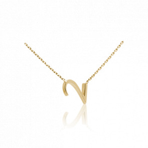"""Collier Chiffre """"2"""" Or Jaune"""
