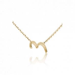 """Collier Chiffre """"3"""" Or Jaune"""