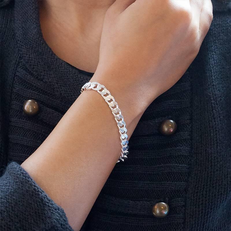 Bracelet maille gourmette en argent massif - Ocarat d467e09d16dd