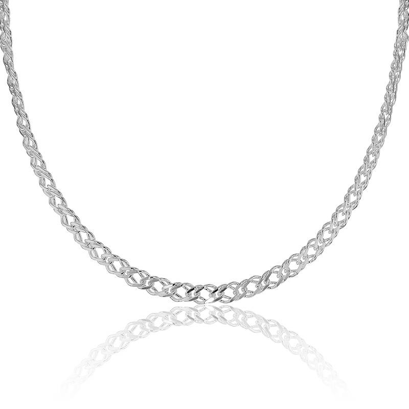 Collier Maille Double Rombo Argent 925