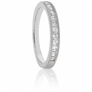 Alliance Dionysa Platine et Diamants G/VS 0,25ct