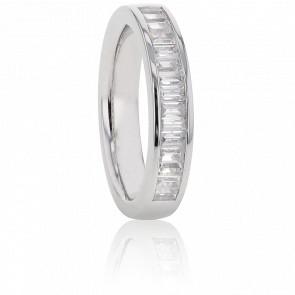 Alliance Dolabella, Diamants GVS & Or Blanc 18K