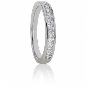 Alliance Hermia, Diamants GVS & Or Blanc 18K