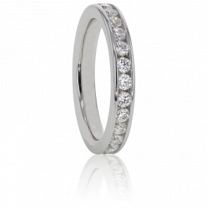 Alliance Cinna Platine et Diamants G/VS 0.50 ct - Alliantine