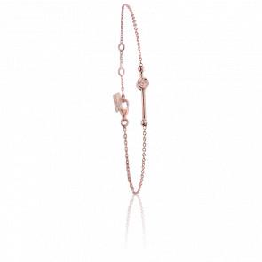 Bracelet Swing Vermeil Or rose & Diamants