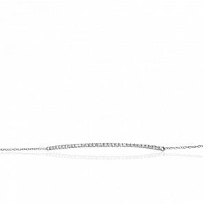 Bracelet Isil Or Blanc & Diamants
