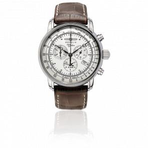 100 Jahre Zeppelin Chronograph Alarm 7680-1 Zeppelin