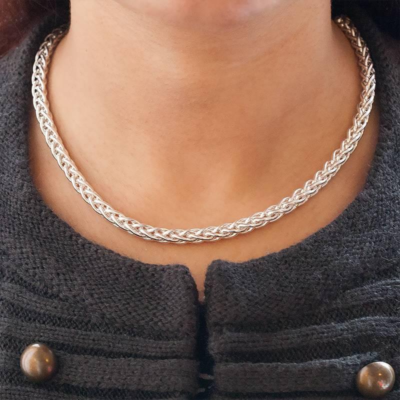 Bracelet or maille palmier femme