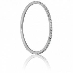 Alliance Infini Or Blanc & Diamants 0.18 ct