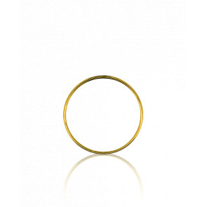 Pendentif Simply Circle Or Jaune Ø17 mm - Ocarat