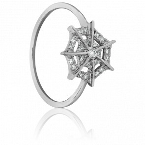 Bague Spider Or Blanc & Diamants