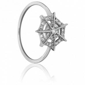 Bague Spider Or Blanc & Diamants