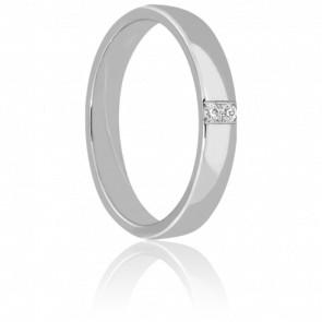 Alliance Adour en Or blanc & Diamants 9K