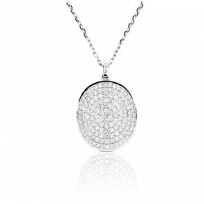 Collier Ovale Diamanté