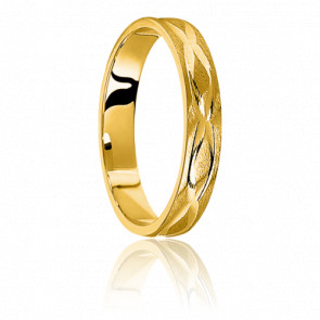 Alliance Comore Or Jaune 9 carats - Ponce