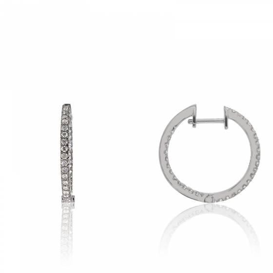 cr oles calliope or blanc 18k diamants divine ocarat. Black Bedroom Furniture Sets. Home Design Ideas