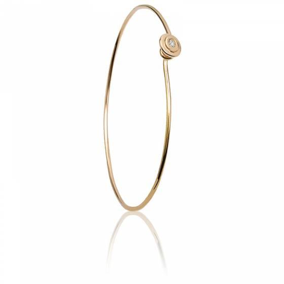 22ac8a12a1 Bracelet Jonc Or Jaune & Diamant - Alexandra Ariche - Ocarat
