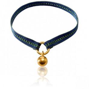 Bracelet Apesanteur Ruban Bleu Vert - Monnaie de Paris