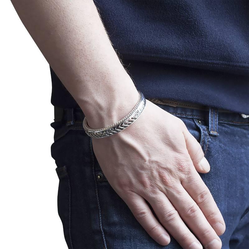 Bracelet argent massif femme pas cher