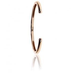 Bracelet Infinie Vermeil Or rose & Diamants