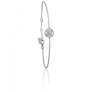 Bracelet Mini Dentelle Argent & Diamant