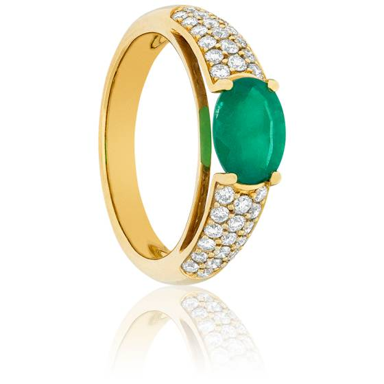 Bague Emeraude Empire