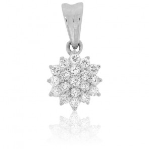 Pendentif Flocon de Diamants