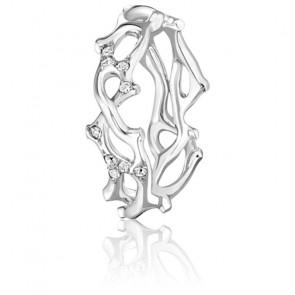 Alliance Jardin Secret PM Diamants 0,20 ct et Or Blanc