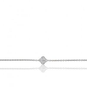 Bracelet Nixie Or Blanc & Diamants 0.25 ct
