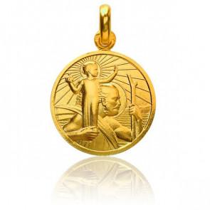 Médaille Saint Christophe Or Jaune 18K - Monnaie de Paris