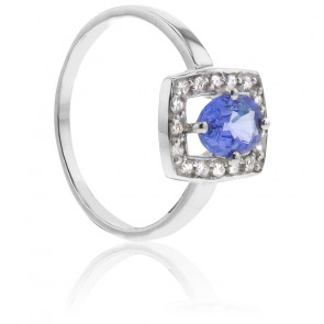 Bague Shaylee Saphir & Diamants - Bellon