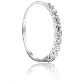 Bague Rian Or blanc & Diamants - Bellon