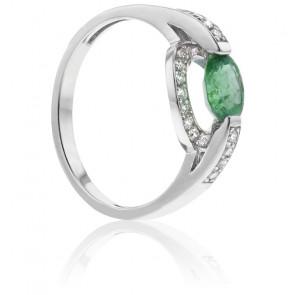 Bague Nerida Emeraude & Diamants