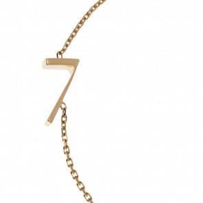 "Bracelet Chiffre ""7"" Or Jaune"
