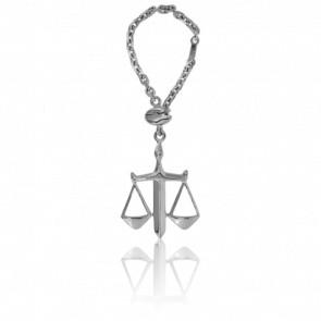 Porte-clés Balance de la Justice