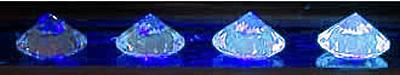 Fluorescence des Diamants