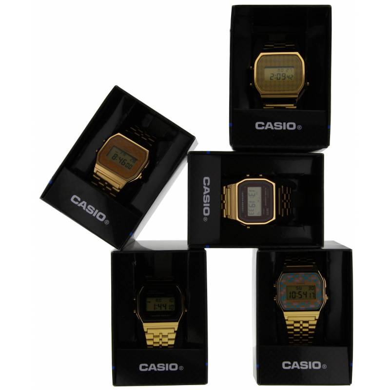 Montre Casio Collection A168WG 9EF Ocarat  GBfV9